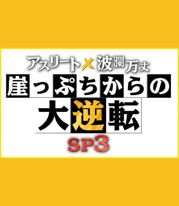 アスリート波瀾万丈 崖っぷちからの大逆転SP3|テレビ東京